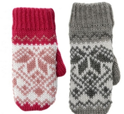 hildrens Fleece Lined Mittens
