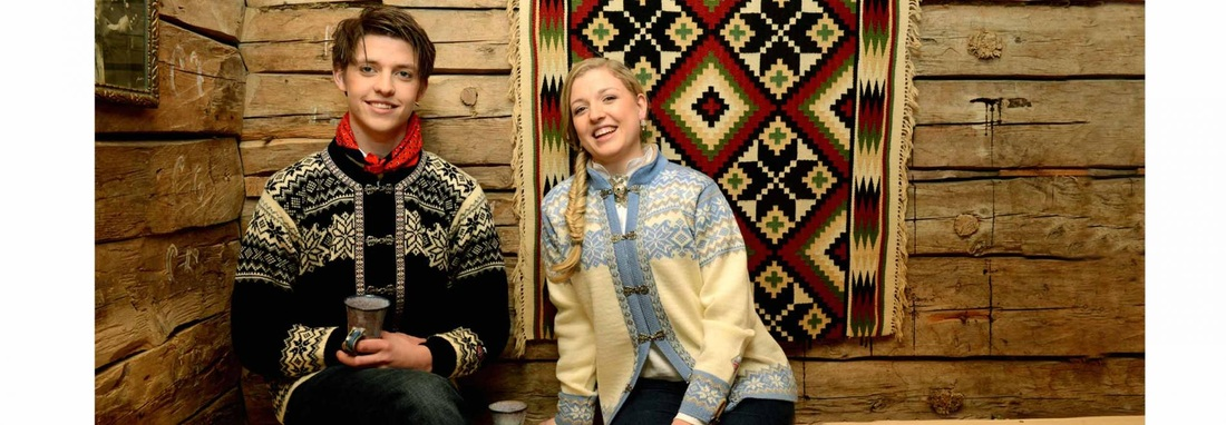 Norwegian Jumpers made the Traditional Way with Pure Wool